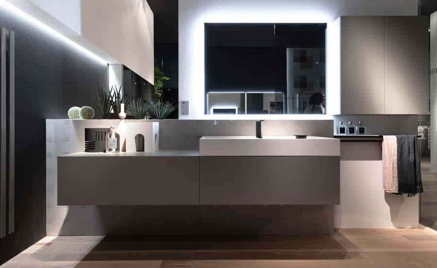 Mobile da bagno Dogma by Aqua - IDEAGROUP