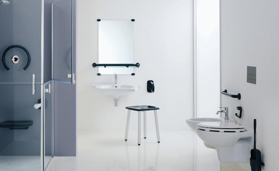Area wc per disabili e anziani