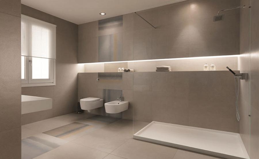 Arredo bagno in stile minimal