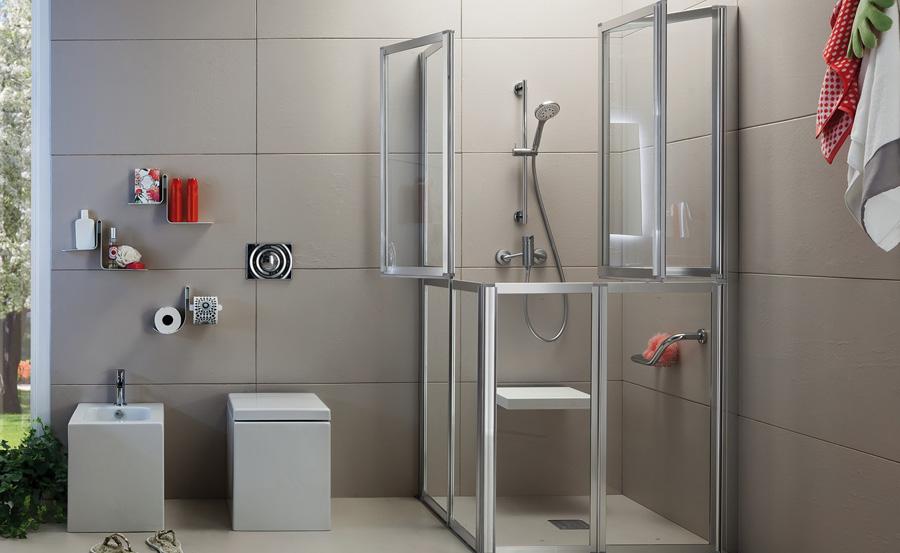 Box doccia per disabili e anziani