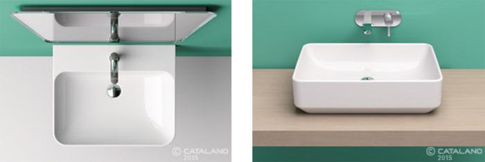 Ceramica Catalano Lavabi.Lavabi D Arredo Green Ceramica Catalano Si Ispira Alla