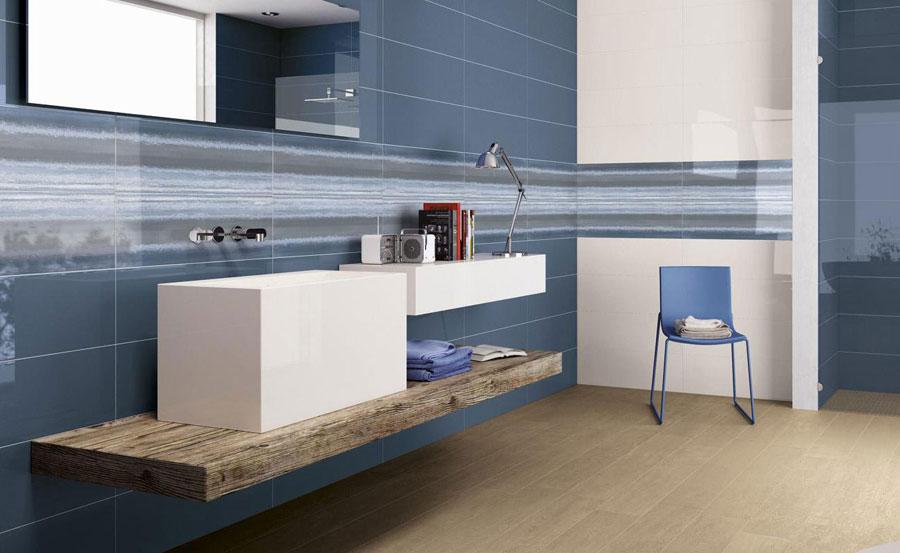 Bagni colorati pavimenti e rivestimenti in un esplosione - Piastrelle colorate per bagno ...