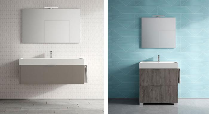 ideagroup lancia la nuova collezione di mobili da bagno basic
