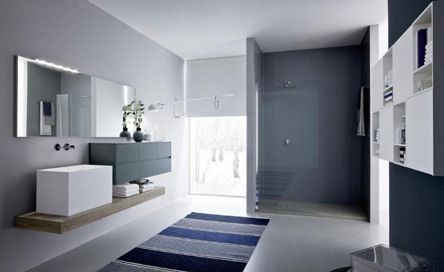Mobile da bagno - Stile minimal