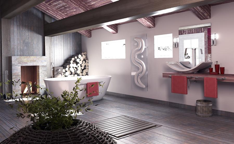 Radiatore design bagno