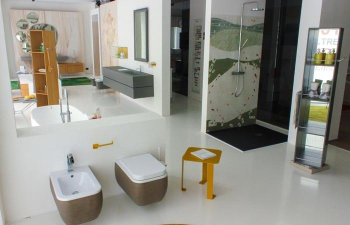 Oltre il bagno il nuovo showroom di padovani dedicato all