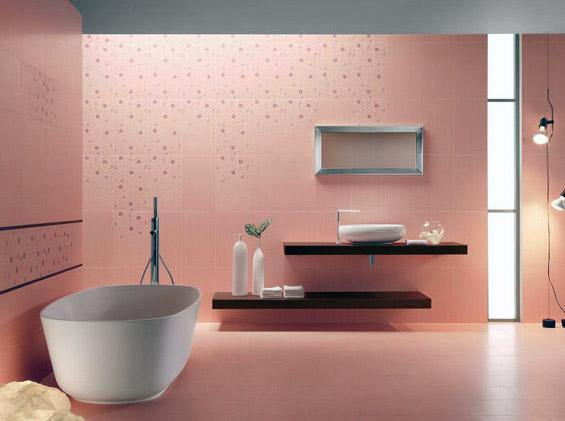 Acif presenta le piastrelle da bagno della serie kensington