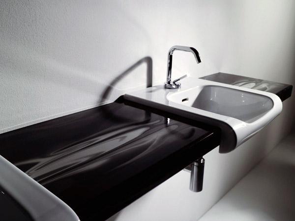 Vasca Da Bagno Kerasan : Nasce agua libre di kerasan serie di lavabi che si integra a piani