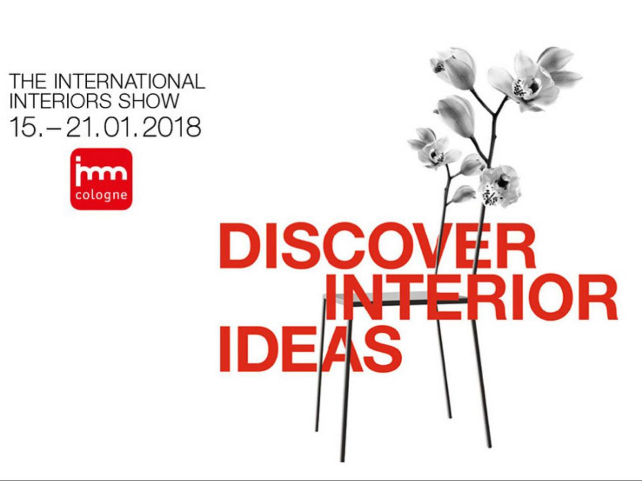 Al via la prima fiera dell'anno dedicata all'interior design: Imm Cologne 2018