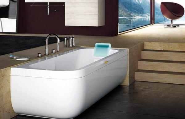 Aquasoul la nuova serie di vasche idromassaggio di jacuzzi® bagnoidea