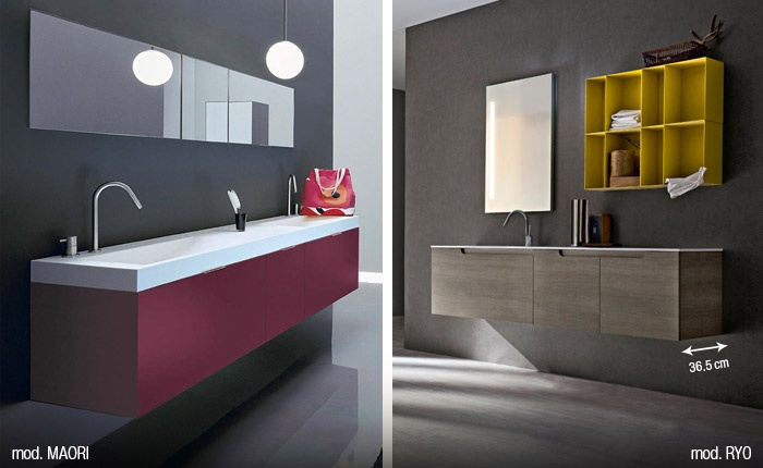 Arredare un bagno lungo e stretto scopri quali armadietti - Arredare bagno lungo e stretto ...
