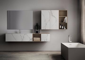 Mobili da bagno design arredo bagno moderno arredamento for Idea casa arredamenti