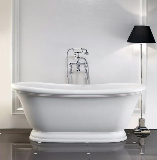 Aurora la nuova vasca da bagno di devon devon in stile - Bagno romantico ...