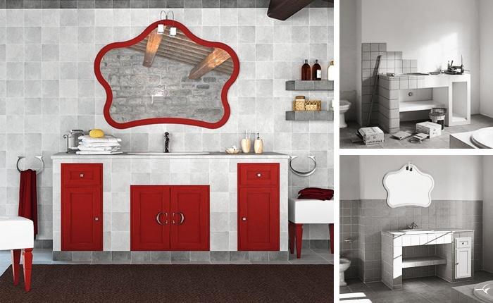Bagni effetto muratura: scopri i piastrellati di Cerasa, stile ...