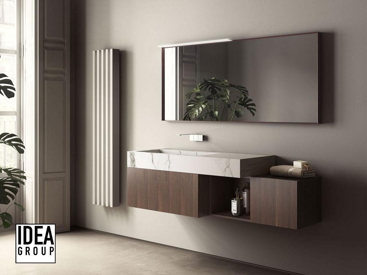 Bagni moderni il vero protagonista il mobile da bagno - Mobili bagno contemporanei ...