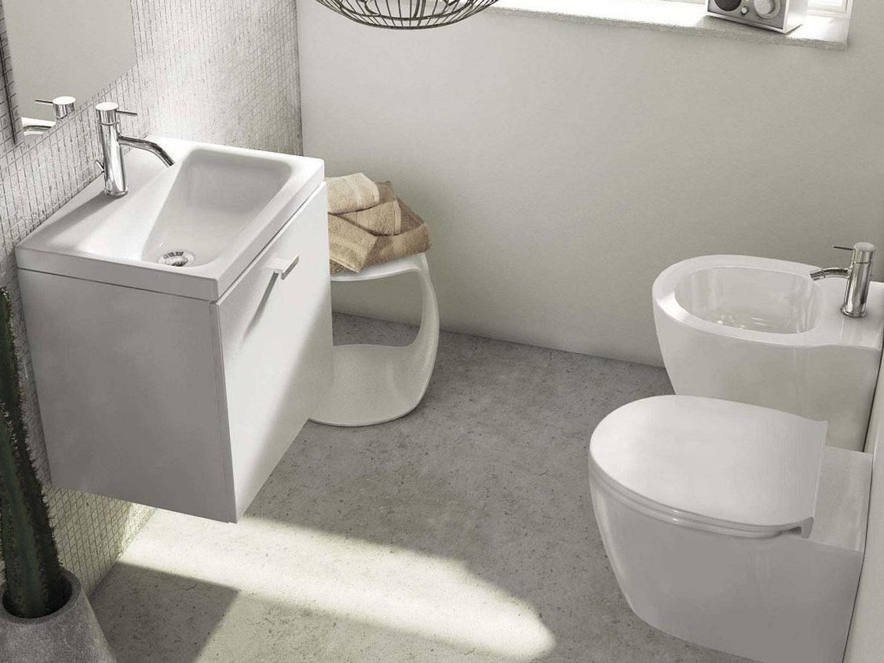 Tenda Per Vasca Da Bagno Piccola : Bagno piccolo? ecco 5 idee per arredarlo con stile e funzionalità