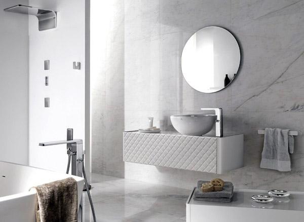 Il bagno si riveste di charme con i due nuovi rivestimenti - Rivestimenti per mobili ...