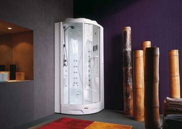 Vasca Da Bagno Angolare 90x90 : Box doccia idromassaggio angolari in cristallo temperato