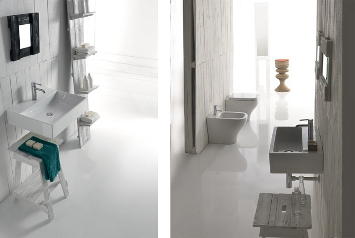 Vasca Da Bagno Galassia : Ceramica galassia presenta la nuova linea per il bagno plus design
