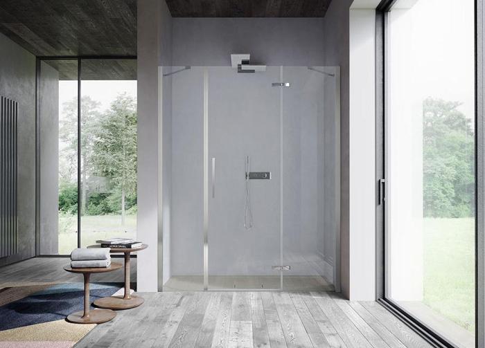 Clip di disenia la cerniera per box doccia ideale per bagni piccoli bagnoidea - Bagni piccoli con doccia ...