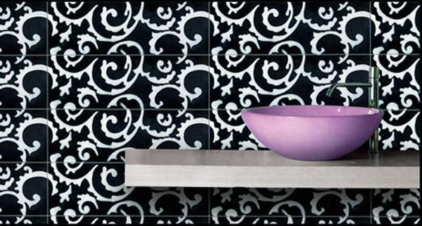 Colori di tendenza per i nuovi complementi da bagno della - Ceramiche vietri bagno ...