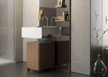 Lavabo consolle Beauty