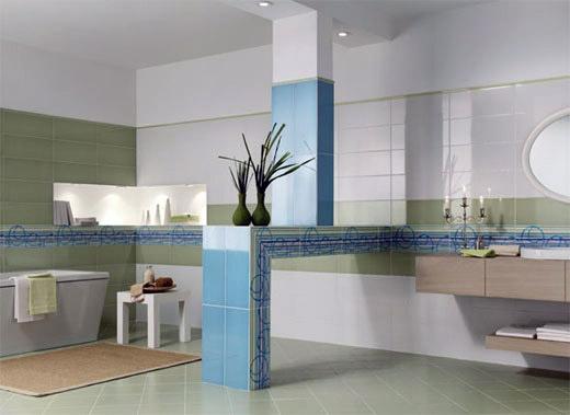 Dado ceramica presenta le piastrelle da bagno della serie kolora