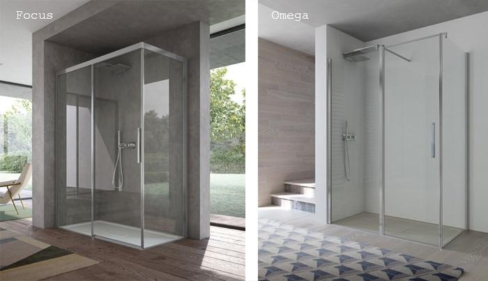 Disenia by ideagroup presenta le cabine doccia focus e - Disenia piatto doccia ...