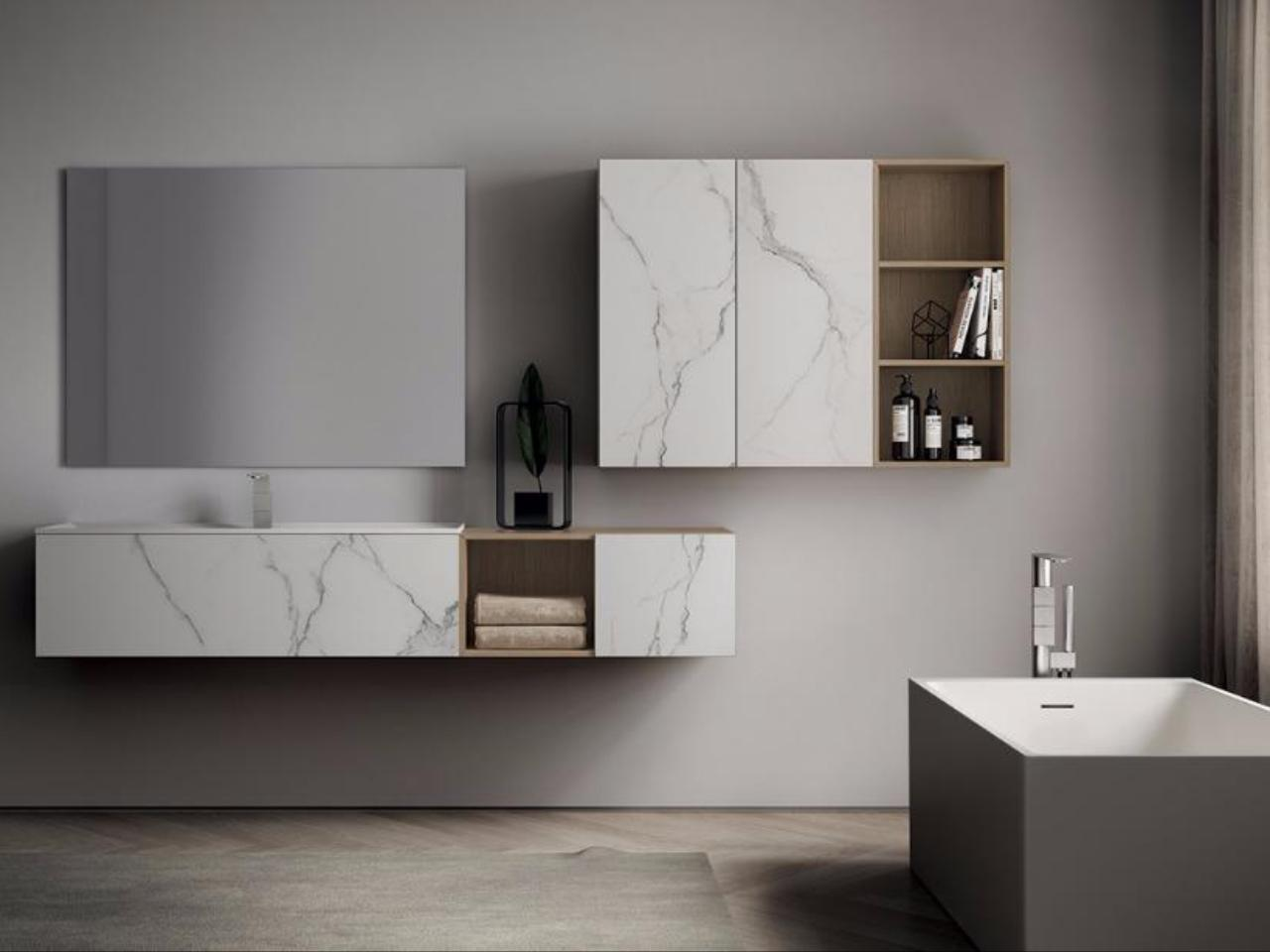 Bagnoidea prodotti e tendenze per arredare il bagno - Idea mobili bagno ...
