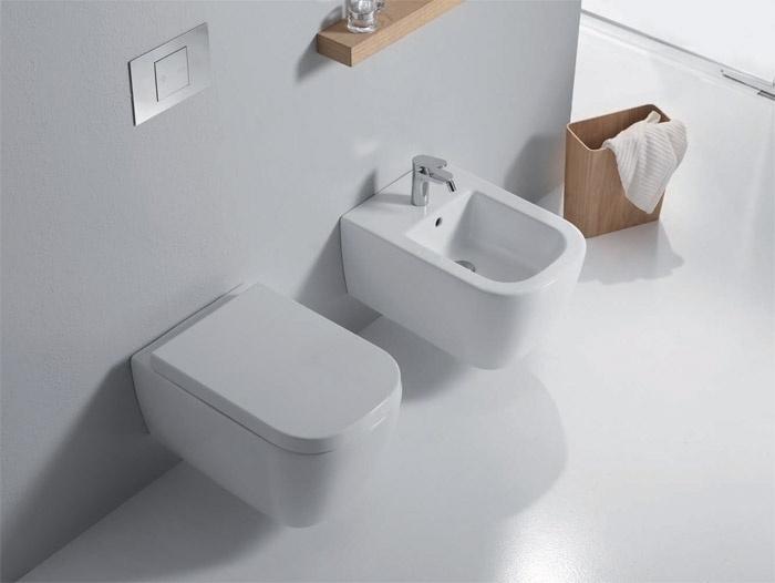 Sanitari In Ceramica Per Bagno.Galaxy I Nuovi Sanitari Bagno Di Ceramica Stile Bagnoidea