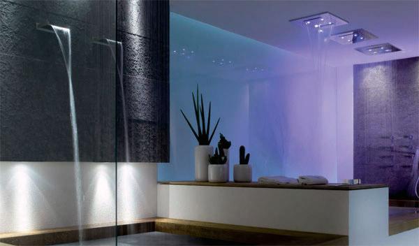 Gessi private wellness quando il bagno coniuga funzione for Gessi arredo bagno