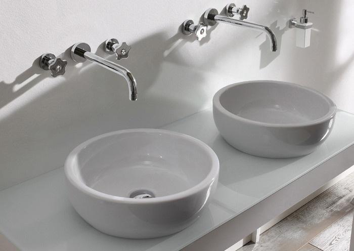 Gi crystal di rubinetteria giulini un punto luce per un bagno di classe bagnoidea - Punti luce per bagno ...