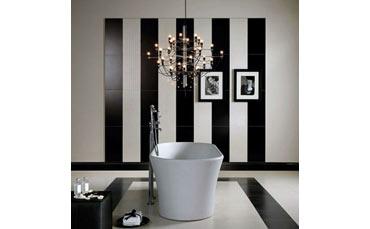 Glamour couture la linea di ceramica per il bagno di kronos
