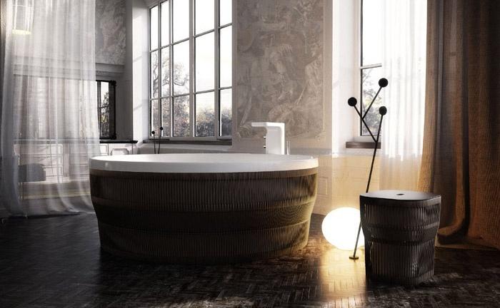Glass presenta hilo una collezione di vasche da bagno pensate come