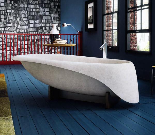Glass idromassaggio presenta la nuova collezione di vasche da bagno concrete un incontro tra - Glass vasche da bagno ...