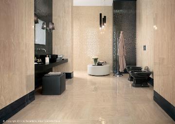 Piastrelle bagno classiche effetto marmo bagnoidea