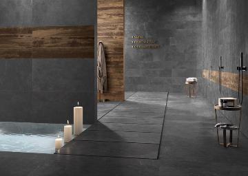 Piastrelle bagno effetto pietra ceramiche supergres bagnoidea