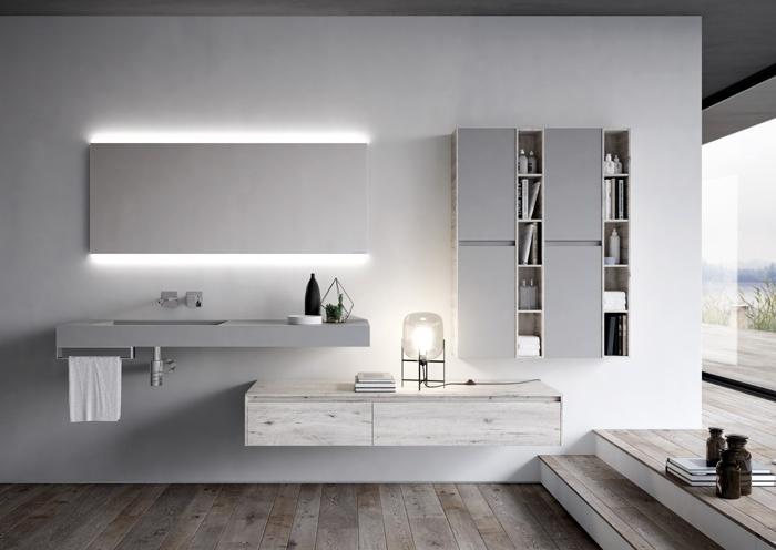 IDEAGROUP presenta i mobili da bagno Nyù by Aqua nella nuova ...