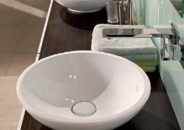 lavabo semiappoggio loop villeroy boch. Black Bedroom Furniture Sets. Home Design Ideas