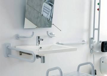 Maniglia lineare e accessori per area wc ponte giulio s p a - Maniglie per disabili bagno ...