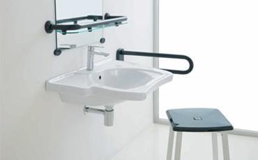Bagnoidea prodotti e tendenze per arredare il bagno - Maniglioni per disabili bagno ...