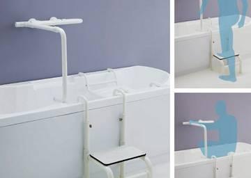 Maniglioni bagno disabili accessori e ausili per anziani - Accessori bagno disabili ...