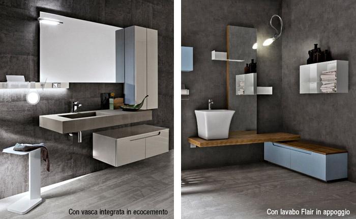 Mobili bagno con lavandino in appoggio trendy mobile bagno con lavabo da appoggio gallery of - Mobile bagno per lavabo da appoggio ...