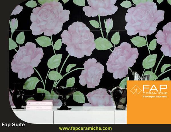 Inizia il mese dei fiori ma con i rivestimenti fap ceramiche sarà