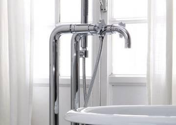 Accessori Da Bagno Con Swarovski : Rubinetti per vasca da bagno a pavimento freestanding con swarovski