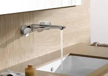 Rubinetti per lavabo e miscelatori bagno design bagnoidea - Miscelatore a parete bagno ...