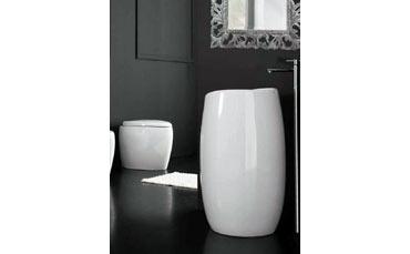 Vasche Da Bagno Zefiro : Lavabo da appoggio zefiro essenziale ed elegante realizzato da