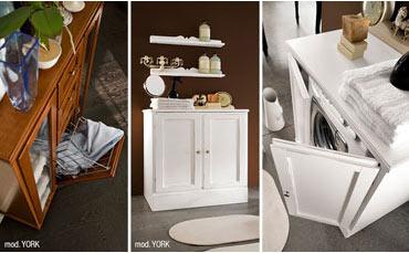 Mobile per lavatrice scopri l armadio del bagno joy di cerasa bagnoidea - Mobile bagno coprilavatrice ...