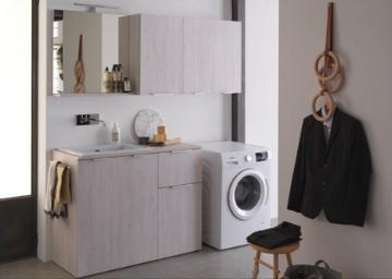 Lavanderia casa: mobile per lavatoio e lavatrice | Bagnoidea