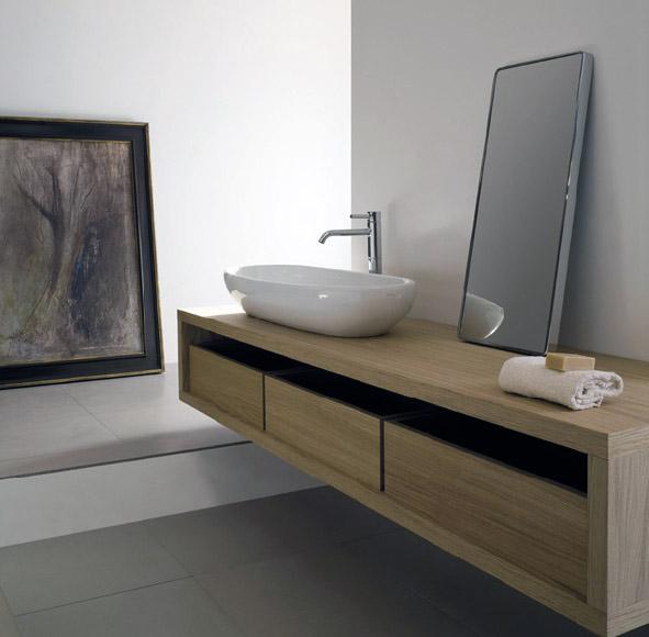 MOD di Galassia, mobili da bagno realizzati con pannelli di legno ...